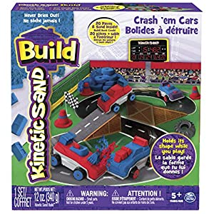 Kinetic Sand Build, Crash 'em Cars - 617SqKHhplL - Kinetic Sand Build, Crash 'em Cars