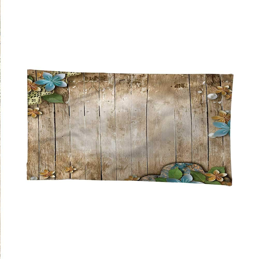 Pearlsocean tapestrylarge tapestryLace on Rustic Wooden Planks 84W x 54L Inch