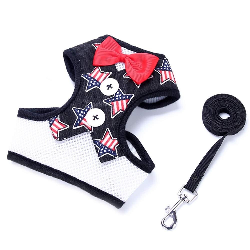 1005-M Dog Leash, Outdoor Medium-Small Dog Pet Chest Strap Dog Leash Vest Dog Chain Non-Retractable Pet Supplies (color   1005-M)