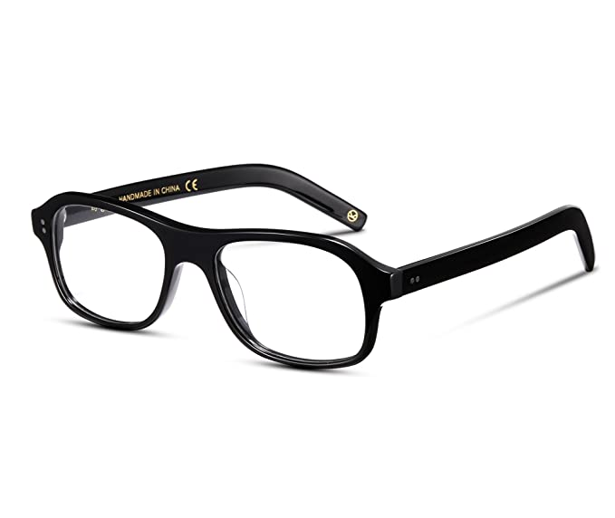 387d969739 EyeGlow Eyeglasses Frame Prescription Glasses Frame for Men Women 52mm  (Black)