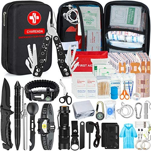 Details about  /18PCS Outdoor Camping Survival Gear Kit Military Tactical EDC Emergency Tools