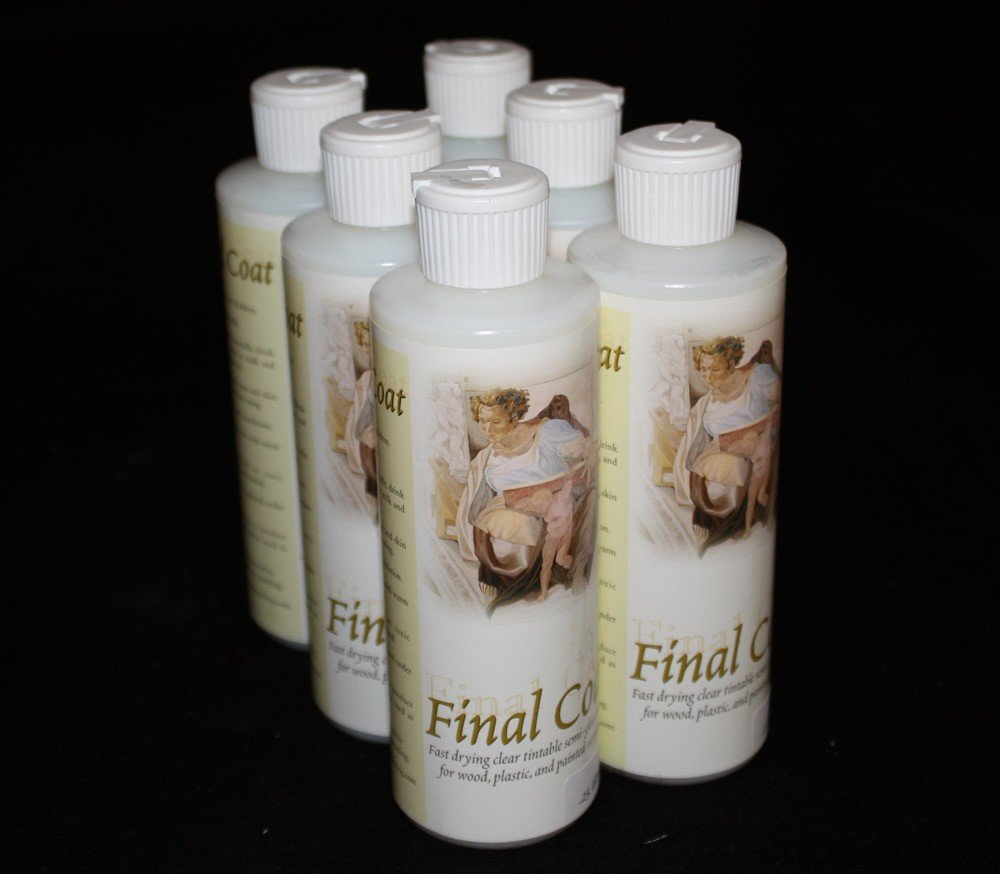 Bulk Buy 6-Pack Semi Gloss 8oz. Final Coat Sealer