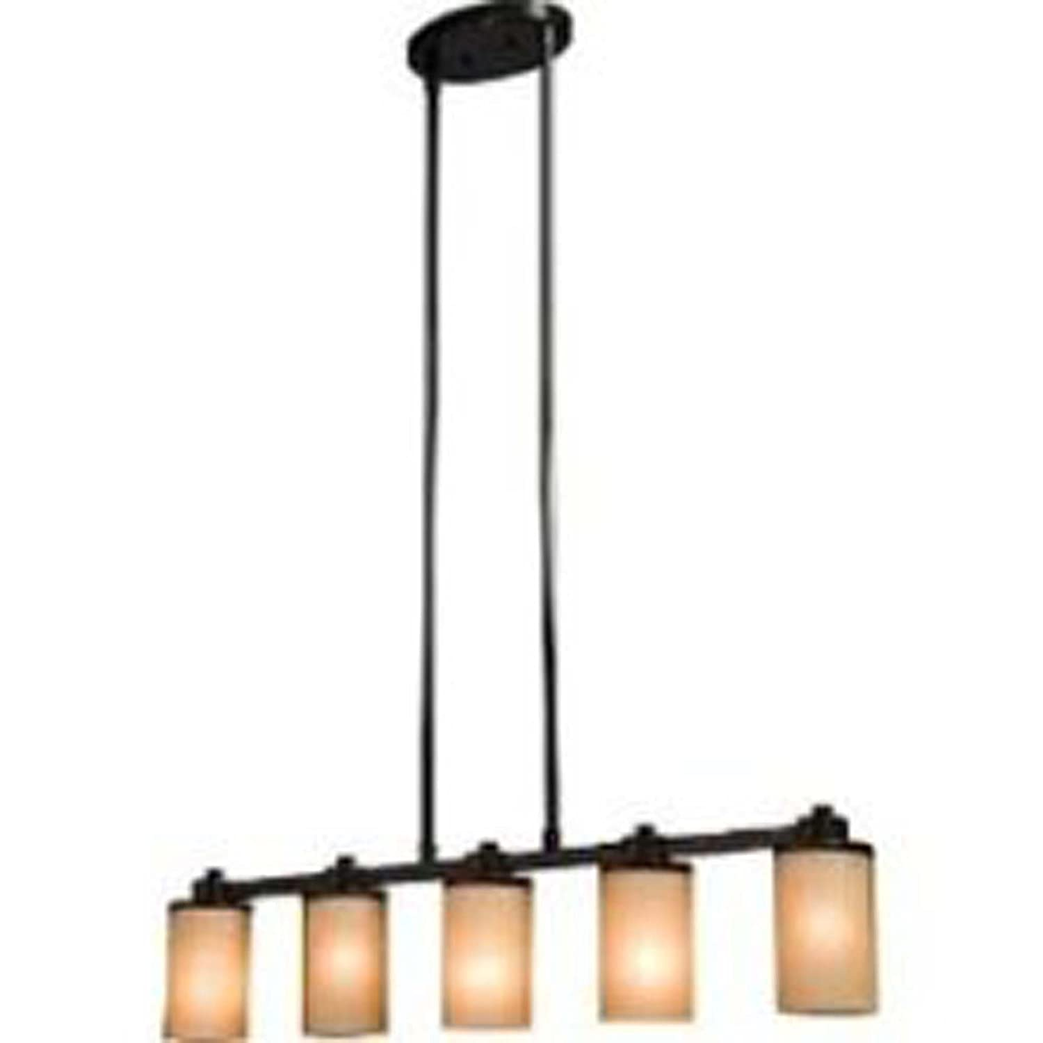 Artcraft Lighting Parkdale 5 Light Island Light Oil Rubbed Bronze