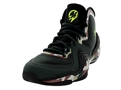online store 869eb cec20 Nike Air Penny V 5 quot Camo Mens Basketball Shoes 628569-307 Black Spruce-
