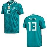 adidas DFB Deutschland Trikot Away Kinder WM 2018 - Müller 13
