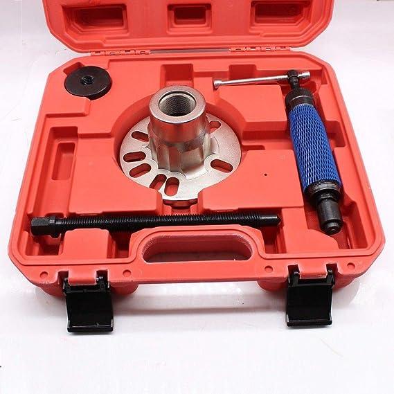 mandrino Idraulico per mozzi Ruote 10T OUKANING Set di Attrezzi per Cuscinetto Ruota estrattore Albero Motore Idraulico.