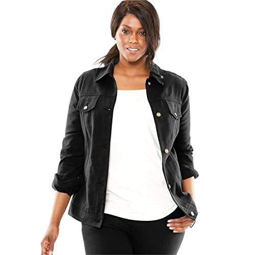 Women S Plus Size Jackets Amazon Com