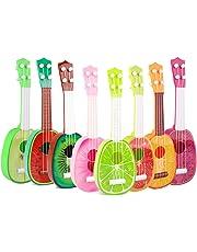 Niome 1PCS Cute Fruit Musical Guitar ukulele Instrument Toy Children Kids Educational Gift