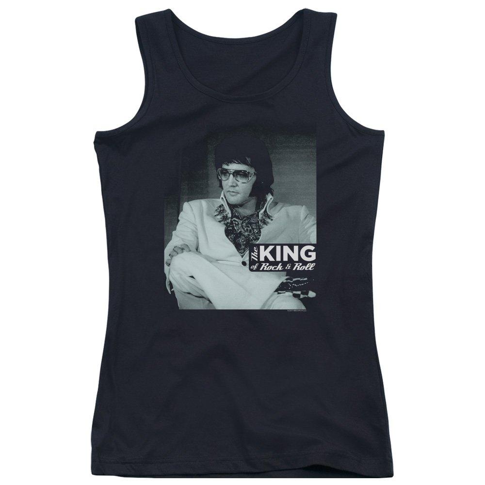 Gut zu Sein Tank Top f/ür Junge Frauen Elvis Presley