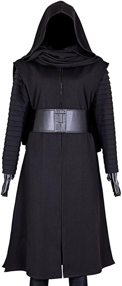 CG disfraz hombre Star Wars Kylo Ren cosplay disfraz: Amazon.es ...