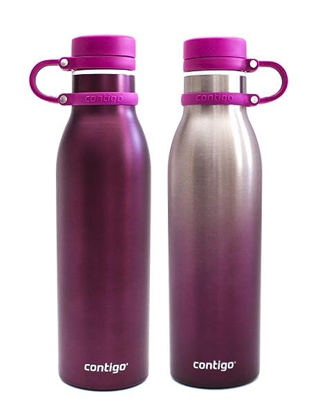 Contigo THERMALOCK Pack 2 Botellas de Agua SIN BPA ...
