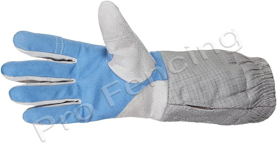 Electric sabre Fencing glove with conductive cuff Right handed Small