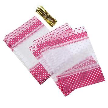 BESTONZON Bolsas de Embalaje de Caramelos de 50 Piezas de ...