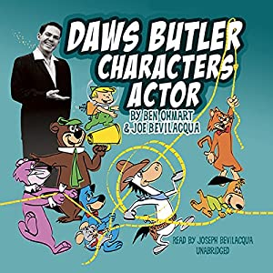 Daws Butler, Characters Actor Audiobook