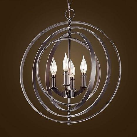 WLG Araña, lámpara colgante, luces de techo American Loft ...