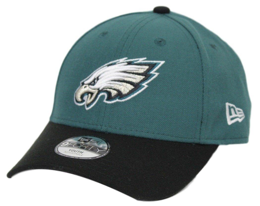 reputable site c1528 bf588 Amazon.com   Philadelphia Eagles New Era Youth NFL 9Forty