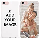 MAKE YOUR OWN iPHONE 8 / 7 CASE - Customized Cover Add Photo Print Text Logo Picture