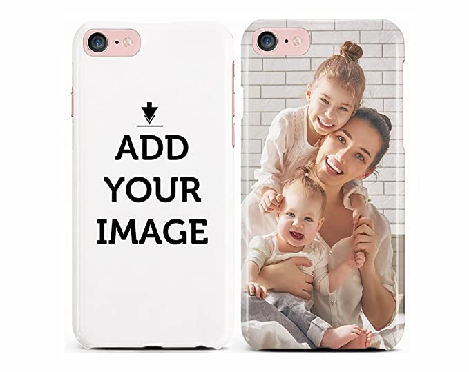 info for 929e7 2edbf Make Your OWN iPhone 8/7 CASE - Customized Cover Add Photo Print Text Logo  Picture