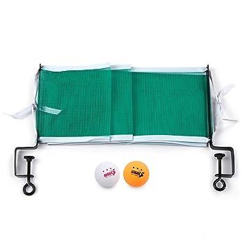 Explopur Juego de Tenis de Mesa - Mesa de Tenis de Mesa con Red de ...