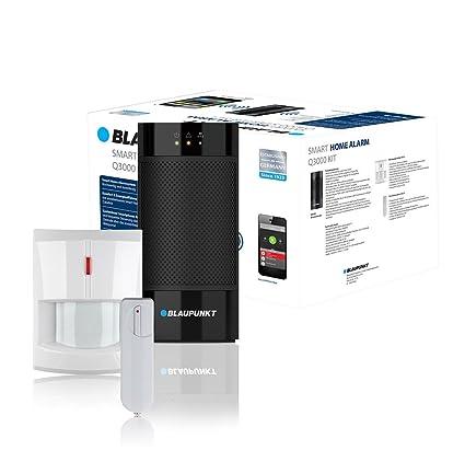 Blaupunkt Q3000 - Kit Alarma IP Inteligente. Incluye sensor de movimiento y sensor de puerta