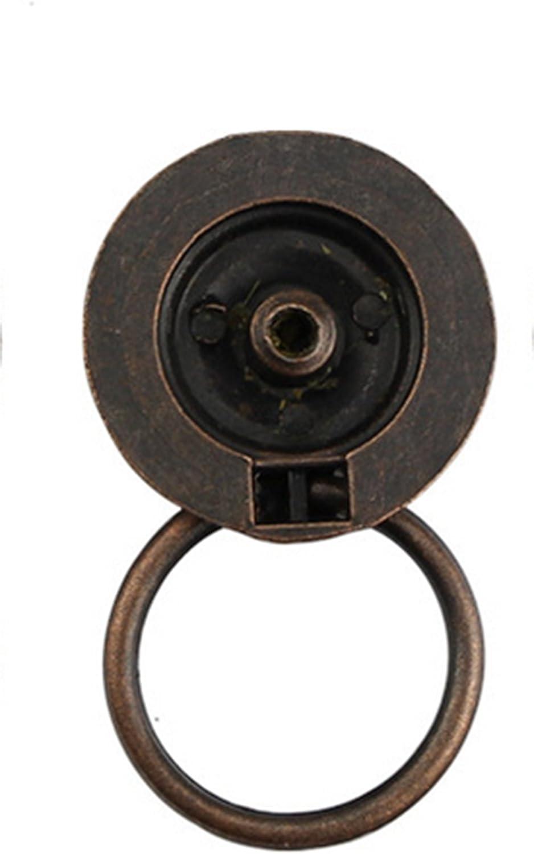 Demarkt Schrankgriff M/öbelgriffe Stangengriffe T/ürgriff K/üchengriffe Schubladengriff Schublade Handgriff Retro Stil Rund 30x30mm