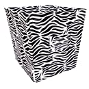 Amazon Com Trend Lab Fabric Storage Bin Zebra Print