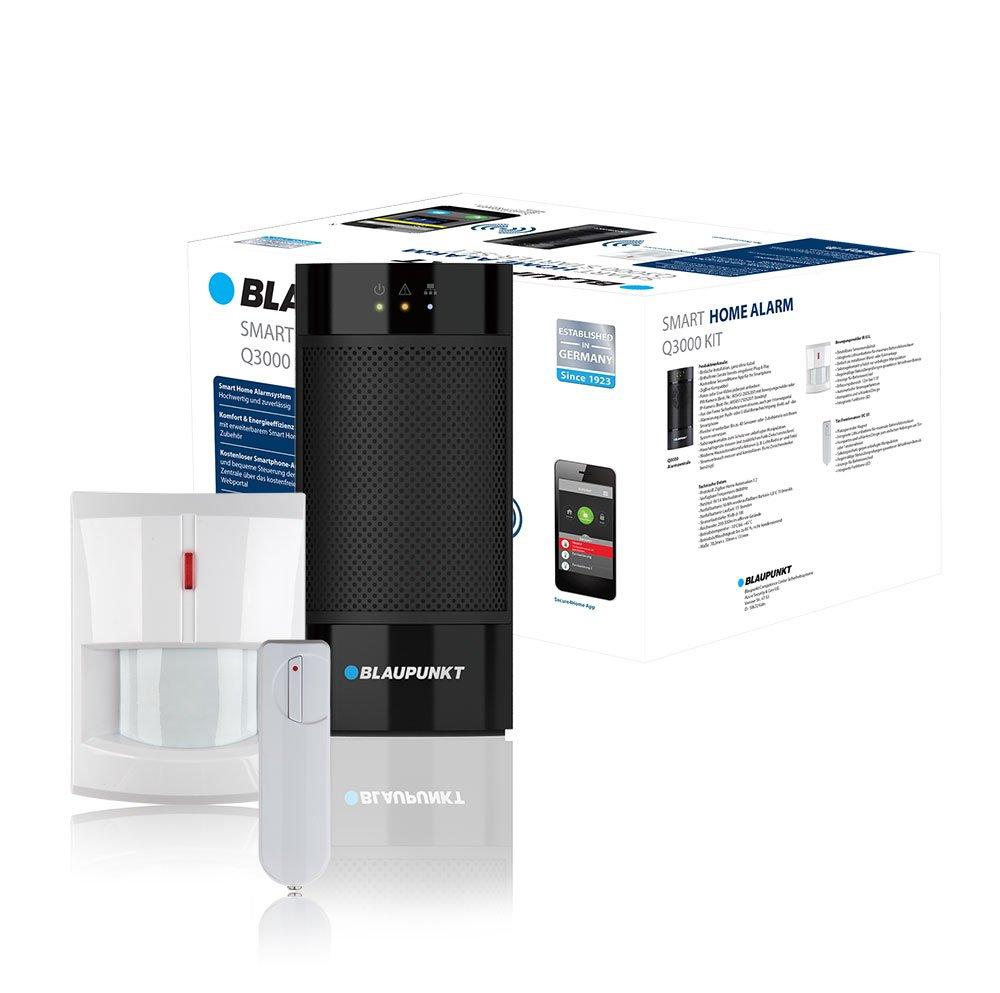 Blaupunkt Q3000 - Kit Alarma IP Inteligente. Incluye sensor de movimiento y sensor de puerta/ventana. Compatible con cámara de verificacion.
