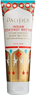 product image for Pacifica Body Butter Tube, Indian Coconut Nectar, 8 Ounce