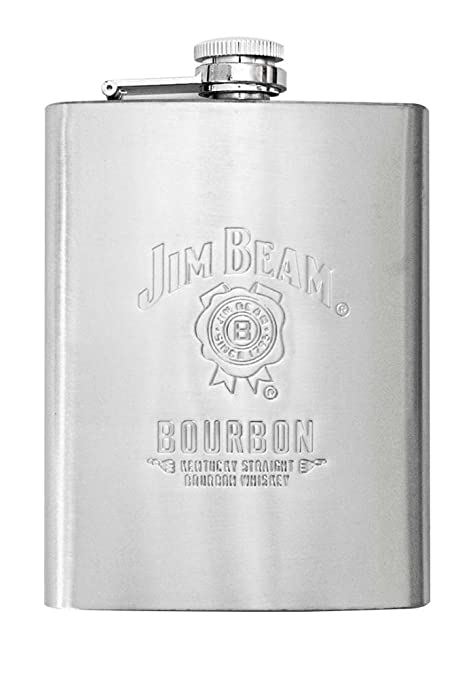 Amazon.com: Jim Beam 8oz Petaca de acero inoxidable: Kitchen ...