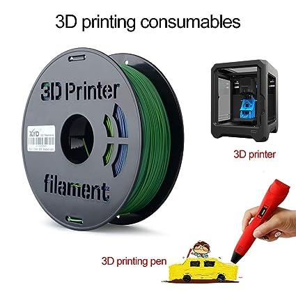Aibecy 1KG / Spool FDM Impresora 3D Filamento PLA 1.75 mm Color ...