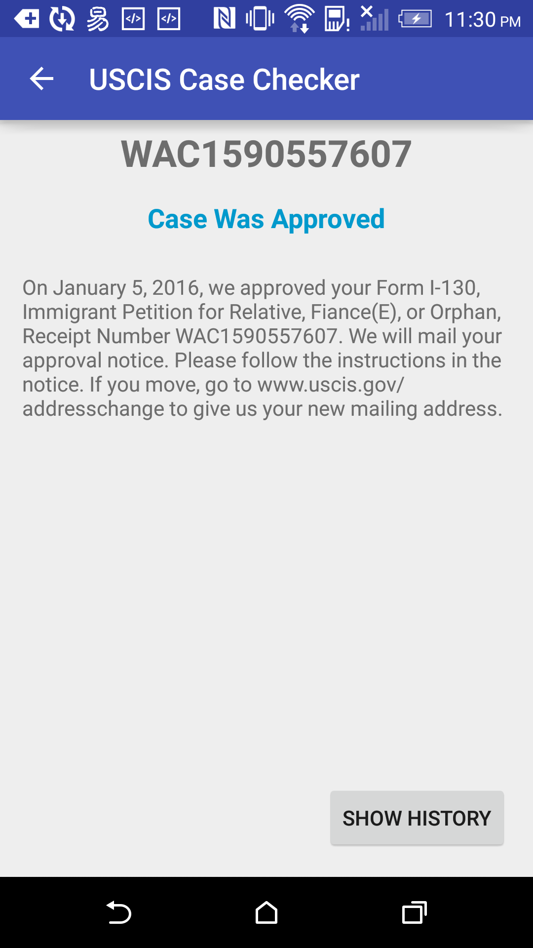 Amazon com: USCIS case status: Appstore for Android