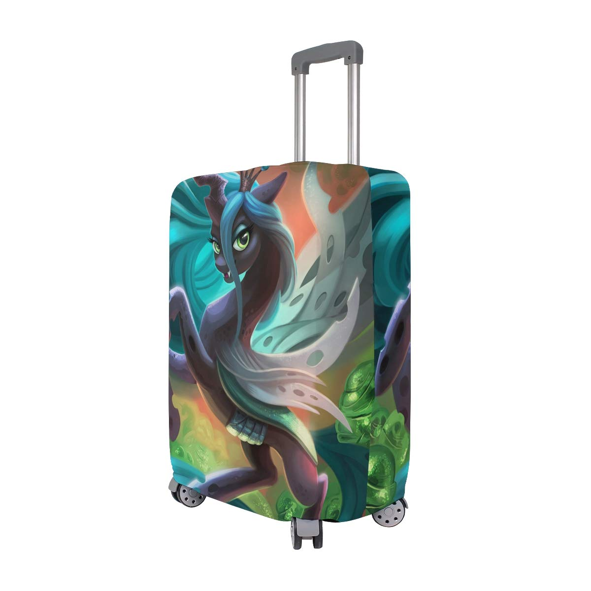 My Sweet Little Pony Forest Travel Luggage Cover Suitcase Protector Fits 26-28 Inch Washable Baggage Covers