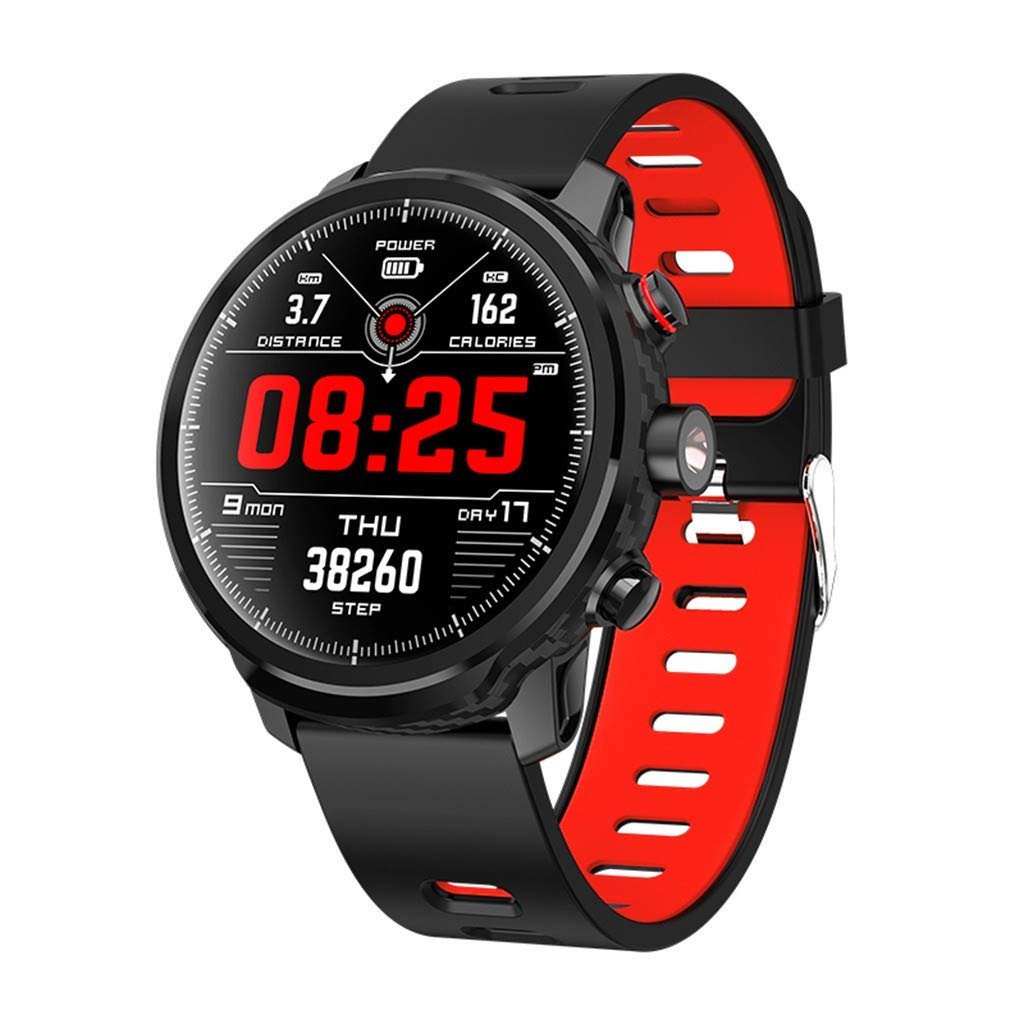 Amazon.com: Star_wuvi IP68 Waterproof Smartwatch,Fitness ...