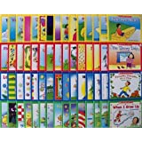 60 Scholastic Easy Leveled Readers Phonics Early Guided Reading Lot (15 Books Per Levels A, B, C, and D) (Little Leveled Readers)