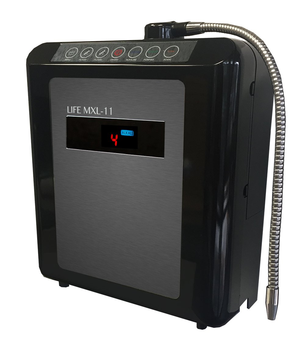 Life Ionizer MXL-11 Counter Top Alkaline Water Ionizer M11CNext//110V//BU