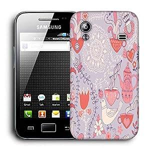 Diseñador Snoogg Teléfono protector de la cubierta del caso para Samsung Galaxy ACE