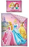 parure de lit housse de couette réversible 140 x 200 cm Princesse disney 100% coton