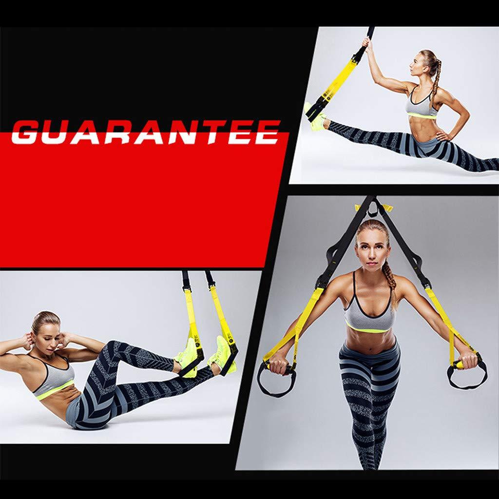 Amazon.com : MaxFox Suspension Training Tension Belt,Yoga ...