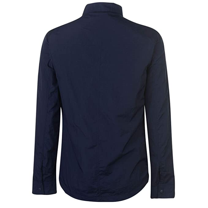 Firetrap Mens Blackseal Shacket Overshirt