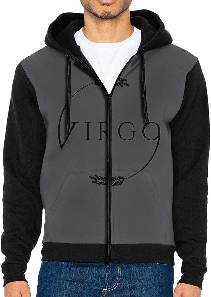 SHHXYS Virgo Logo New Hoodies Geek Sweatshirts for Mens