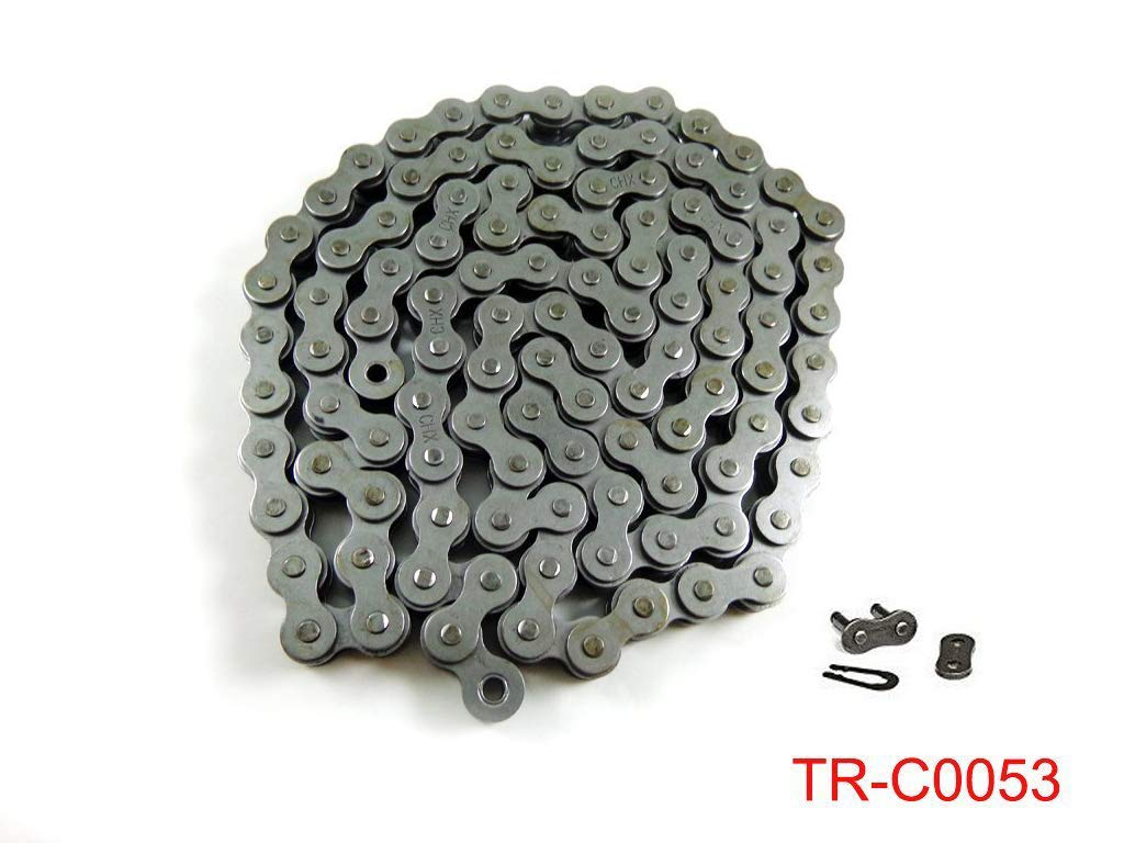 Amazon.com: Strengthen Heavy Duty 415 415H Chain with Connecting Master Link for 2 Stroke 49cc 60cc 66cc 80cc Motorized Bicycle Bike Engine Motor: ...