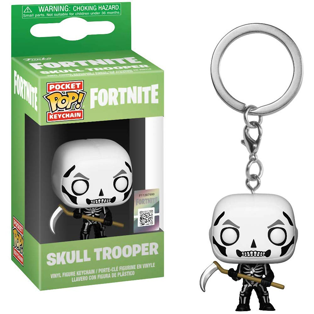 Amazon.com: Funko Skull Trooper: Fortnite x Pocket POP! Mini ...