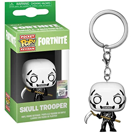Amazon.com: Funko Skull Trooper: Fortnite x Pocket POP! Mini ...
