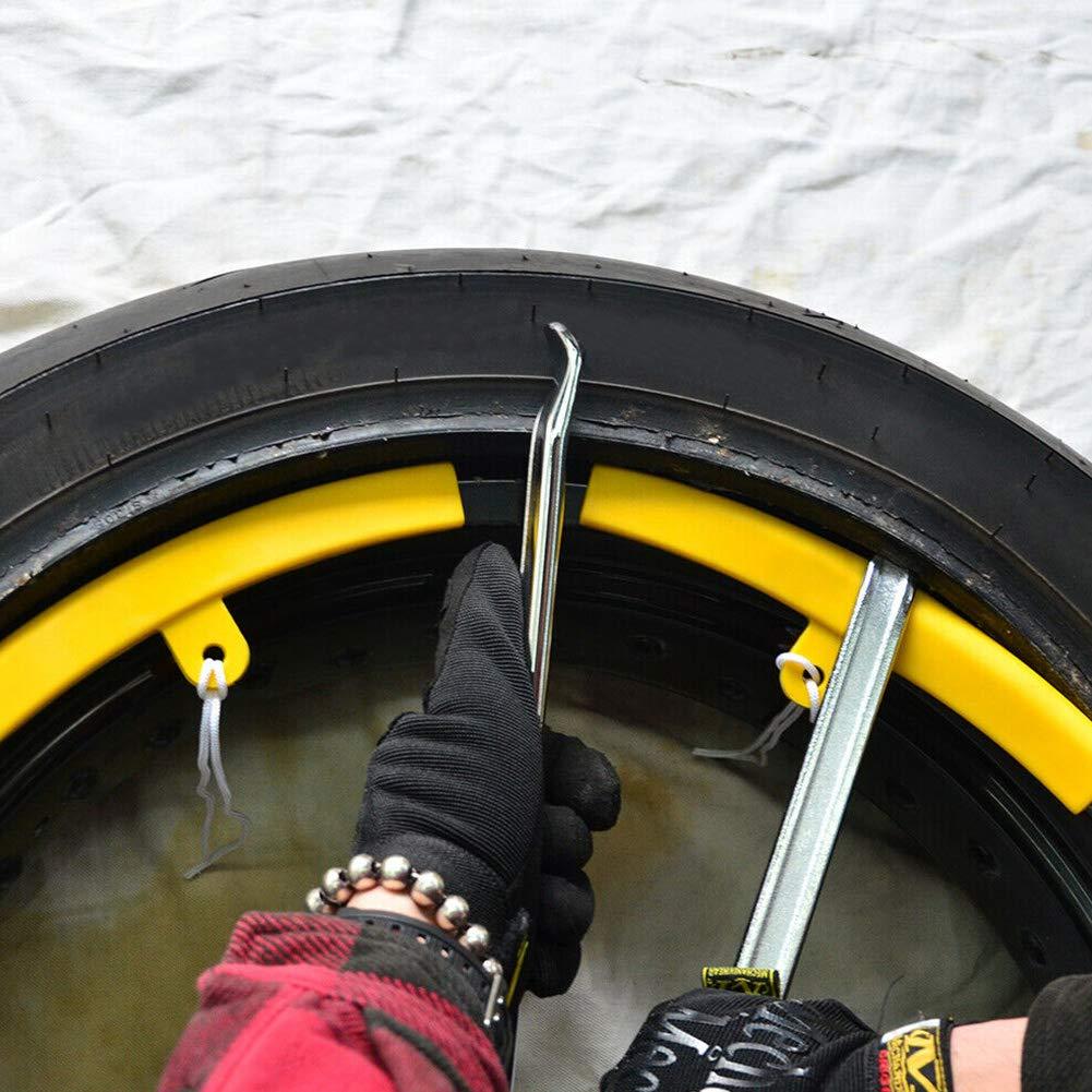 25 cm Voiture v/élo Voir Image NANAD Lot de 2 leviers de Pneu 25 cm//30 cm//40 cm//50 cm Outil de r/éparation pour Moto
