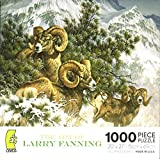 Art Of Larry Fanning 1000 Piece Puzzle Rocky Mountain Big Horn Sheep