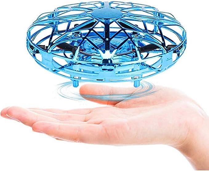 UFO-Auftritt OSISTER7 LED-Handdrohne f/ür Kinder Kinderdrohne Flugballdrohne Gro/ße Anf/ängerdrohne f/ür Kinder