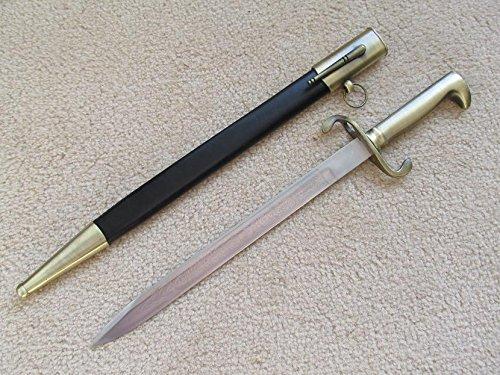 Bayonet Sword - S0050 WW II German Police MAUSER Bayonet Eagle Headed Pommel SOLINGEN Sword 19