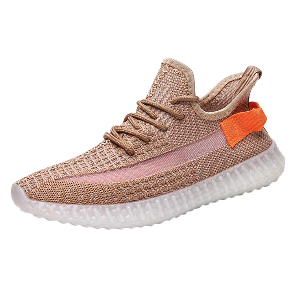 Fashion Casual Outdoor Sneakers Running Shoes,Men's Lightweight Comfortable Breathable Walking Sneakers Running Shoes Watermelon Red