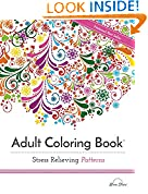 #2: Adult Coloring Book: Stress Relieving Patterns (Adult Coloring Books Best Sellers)