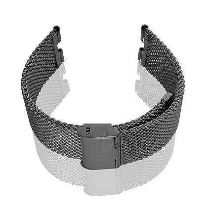 Bradychan banda acero inoxidable reloj pulsera Metal Alambre ...
